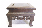 Hardwood display table, Square, Style 02-11